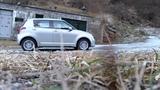 Suzuki Swift 4x4 1.3 92cv prova su ghiaccio a Tartano. Test on Ice