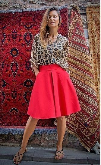 Где купить кожаную юбку новые фото