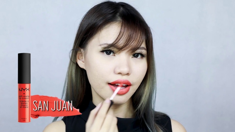 Soft Matte Lip Cream Swatches by Veronica Ong