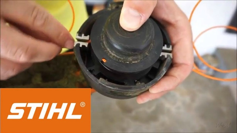 Stihl String Trimmer Line Replacement Dual String Bump Head