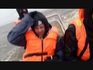 На Рибе в Псковском озере 11.11.18г