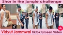 Shor in The Jungle Tiktok Challenge Duet with Vidyut Jammwal|Vidyut Jammwal Tiktok Video|Junglee|