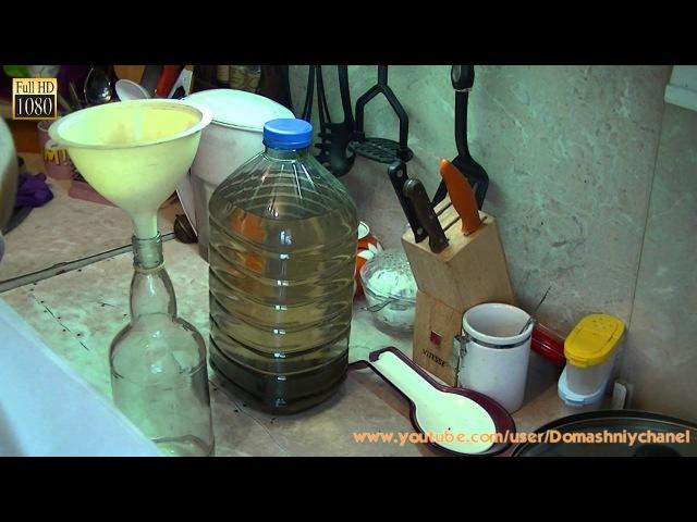 Как очистить спирт от примесей и сивушных масел