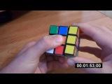 Rubik's Cube Solving (3x3x3). Метод послойной сборки (не обучение)
