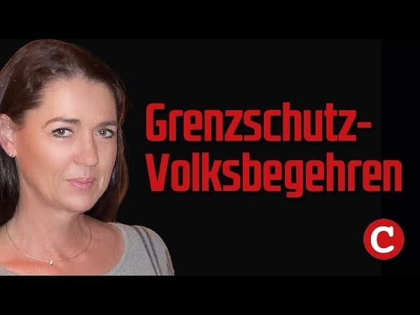 JA zum Grenzschutz! Brigitte Fischbacher: Unsere Heimat bewahren.