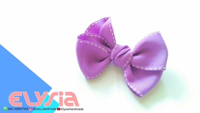 Laço Elena 🎀 Elena Ribbon Bow 🎀 DIY by Elysia Handmade