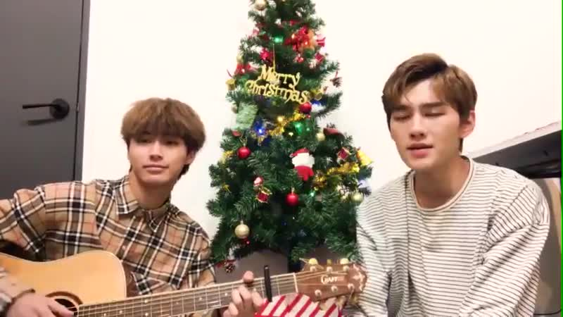 DONGKIZ - 팬분들께 들려드리고 싶었대요 - 내일 만날 팬분들도, 함께하지 못하는 분들도 - 모두 Merry Christmas~.mp4