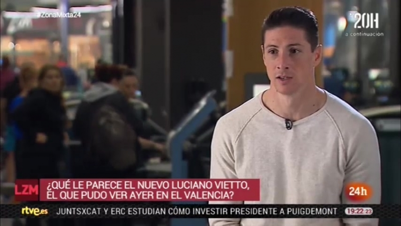 Torres recibe a Televisión Española en su gimnasio Nine Fitness (10-01-18) TVE