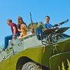 Катание на танке(БРДМ) в Калуге!