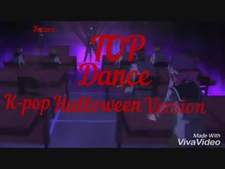Bacura top: Top 8 K-Pop dance Halloween Ver.