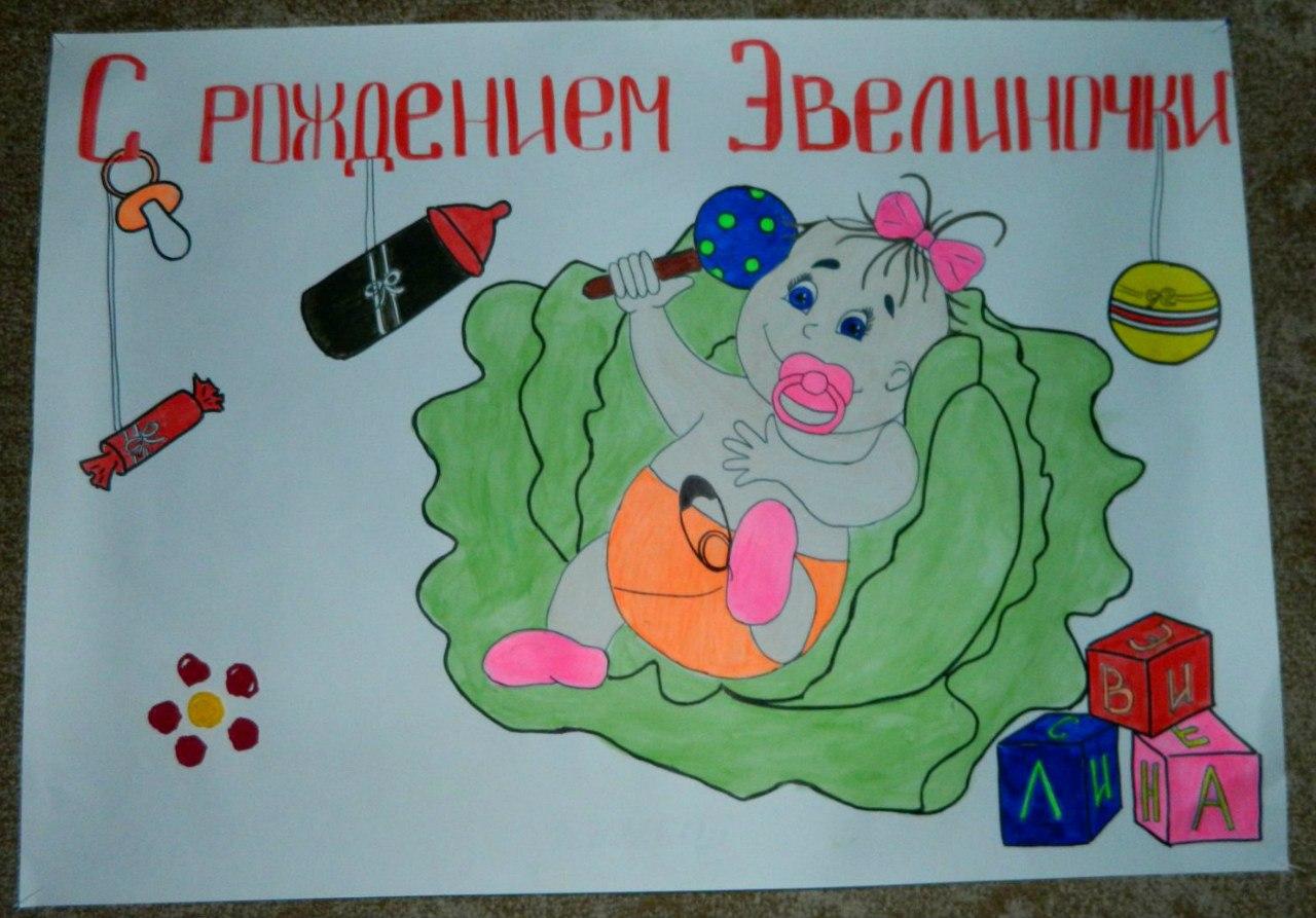 Детский плакат на День рождения ребенка своими руками - Pinterest 43
