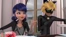 Miraculous Ladybug Weredad Papa Garou Cat Noir and Marinette's Date French