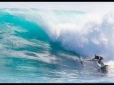 SUP Surf Instruction - How to Bottom Turn a Paddleboard #SUPVideo Поворот на волне!