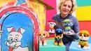Nicoles Spielzeug Kindergarten - Lernen mit der Paw Patrol - Kindervideo
