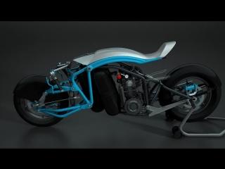 Saline Airstream - пневмомотоцикл