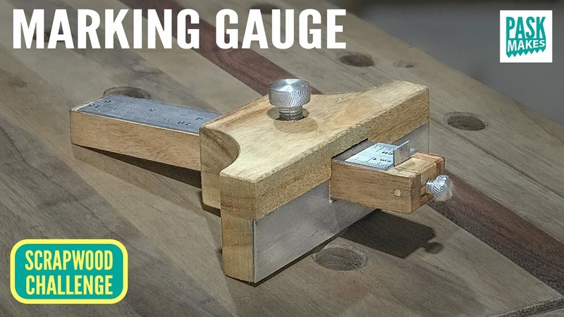 Homemade Marking Gauge - Scrapwood Challenge ep22
