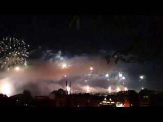 29/10/2013 Cumhuriyet Bayramı Kutlamaları Havai Fişek Gösterisi - Full