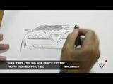 Walter De Silva racconta vi disegno l'Alfa Romeo Proteo