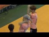 140526 @ MBC Idol Futsal Championship_xiumin goal & luhan ceremony_시우민 득점골+루한과 세레모니