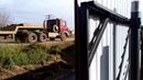 1 часть Лучшая конструкция! Откатные ворота из профнастила в сплошной забор, своими руками.