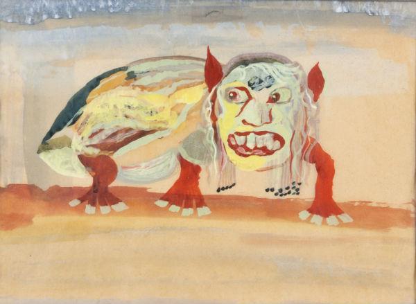 исторя жизни художника Евгения Габричевского (1893-1979).