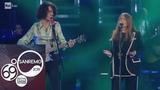 Sanremo 2019 - Motta e Nada cantano
