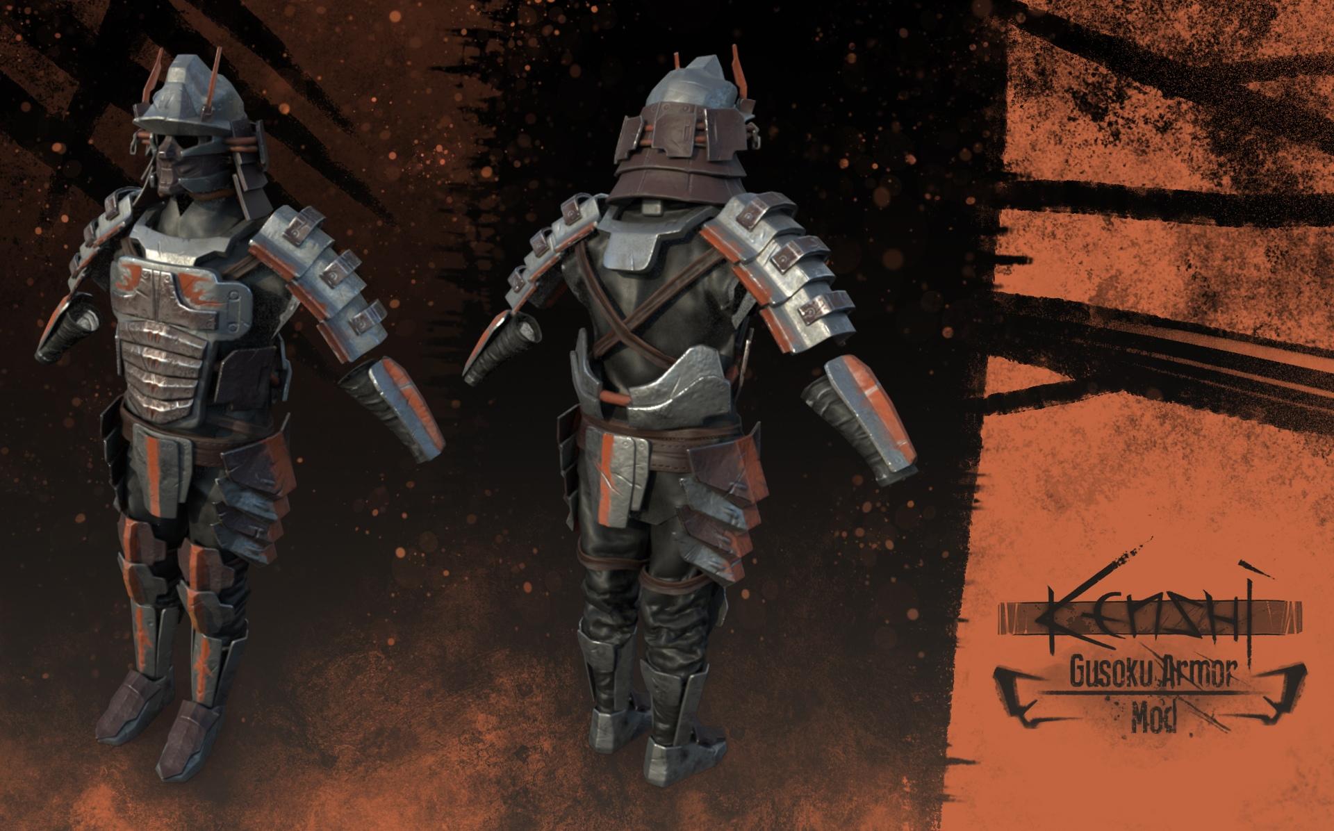"Gusoku Armor Set / Сет Брони ""Gusoku"""