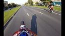 Мотард и спорт на задних 4к Motard and sport in the wheelie 4k