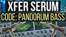 HEAVY Code Pandorum Machine Gun Dubstep Bass in Serum Tutorial FREE PRESET