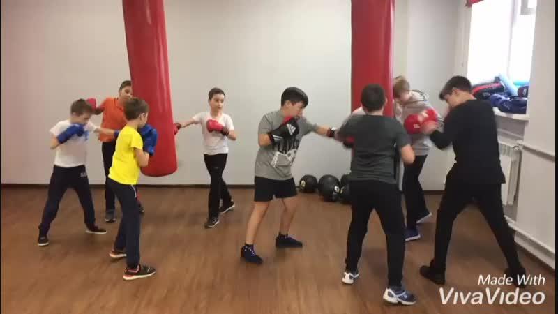 Детский бокс. Фитнес-центр Зожников