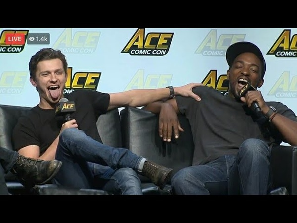 Tom Holland Roasting Anthony Mackie