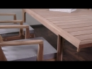 VOYAGE collection TAble chairs YACHTLINE