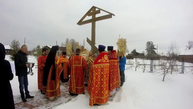 Божественная литургия. 100 лет со дня гибели великомученика Александра Посохина.