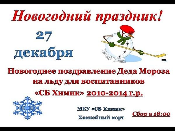 Новогоднее поздравление Деда Мороза воспитанников СБ Химик