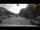 Водитель автомобиля Н863ОВ 102 чуть не сбил пешехода (п. 14.1 ПДД)