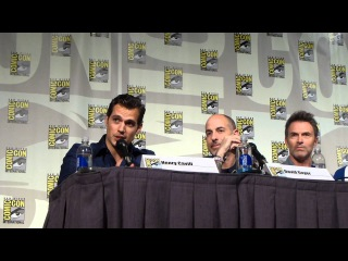 Superman 75th Anniversary panel Comic con Video 7 - Henry answers more questions