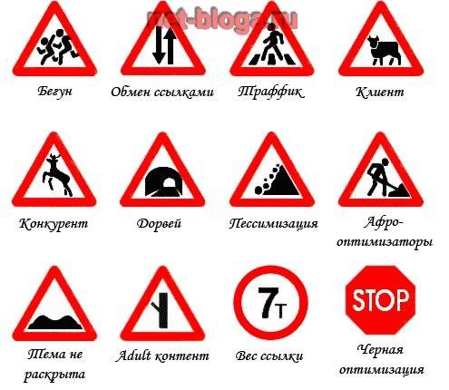 правила движения в картинках: