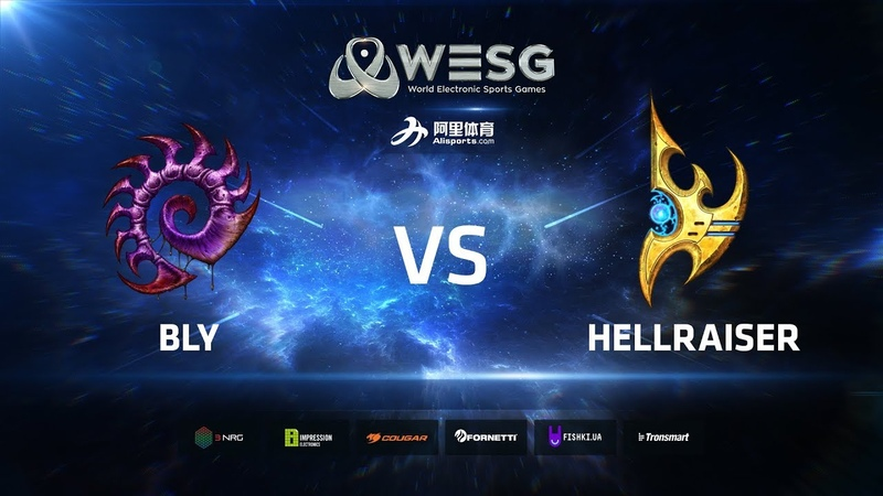 WESG Ukraine - Winners Final Bly (Z) vs HellraiseR (P)