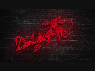 DMC - Devil May Cry Neon Logo