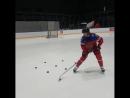 Артемий Панарин on Instagram Моё обязательное упражнение для контроля шайбы