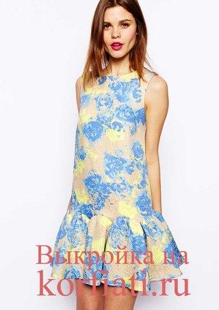 Женские платья для лета выкройки фото 275
