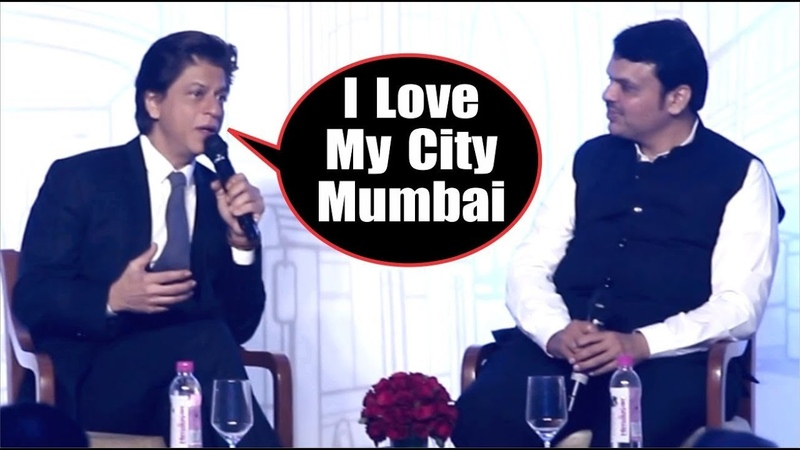 Shahrukh Khan Devendra Fadnavis At Government New Project Mumbai 2.0 | Zero