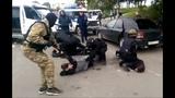 ОМОН на задержании нарко малолеток оперативная съёмка