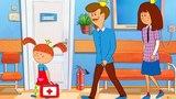 Жила - была Царевна - Ай, болит! - теремок песенки для детей - развивающие мультфильмы