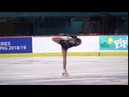 Anastasiia GULIAKOVA RUS Free Skate 2018 Golden Spin of Zagreb