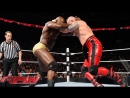 Neville, Mark Henry, R-Truth and Titus ONeil vs Сosmic Wasteland and Tyler Breeze (18.01.16)