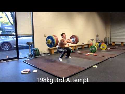 Hysen Pulaku, 77kg, Epic Clean and Jerk Session July 2nd 2012