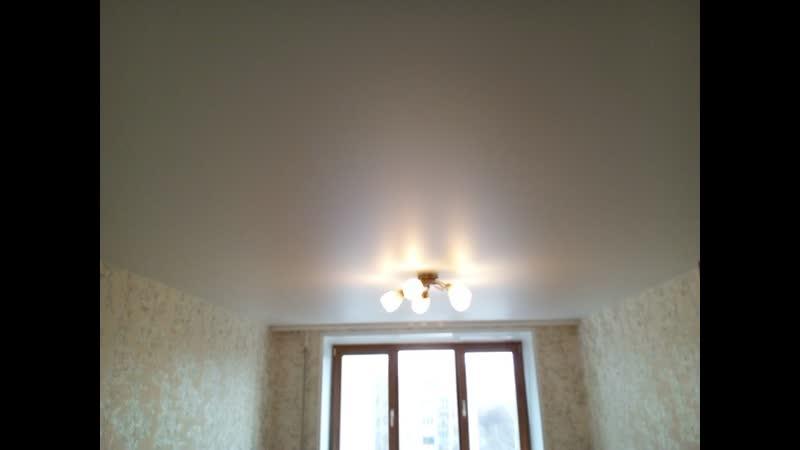 Установка натяжного потолка ул Казитского от фирмы Euro Style Нижний Новгород