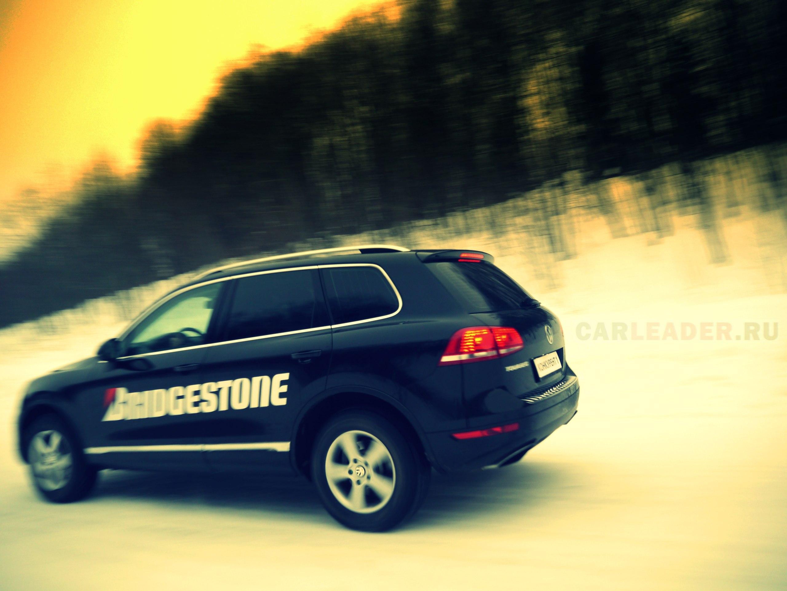 тест зимних шин Bridgestone Spyke