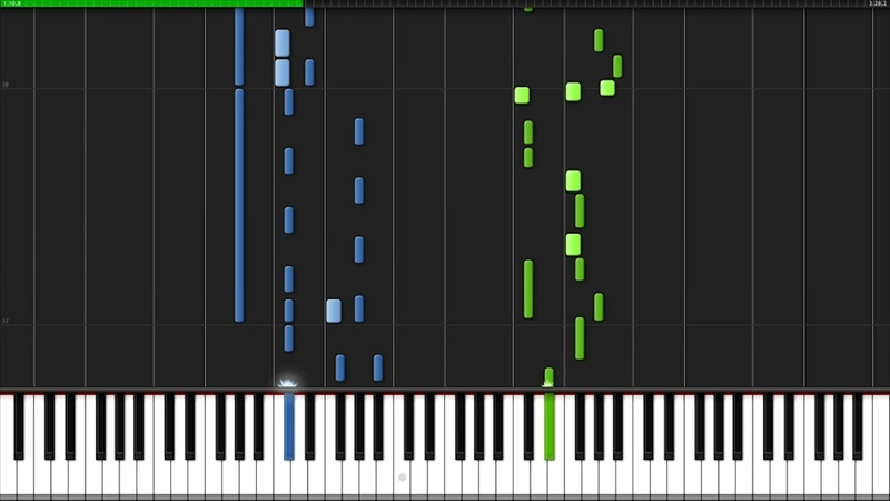 Morning - Honobono Log (Opening) [Piano Tutorial] (Synthesia) Pikasfed